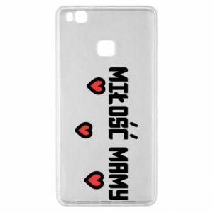 Etui na Huawei P9 Lite Miłość mamy