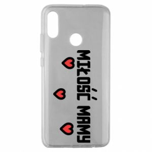 Etui na Huawei Honor 10 Lite Miłość mamy
