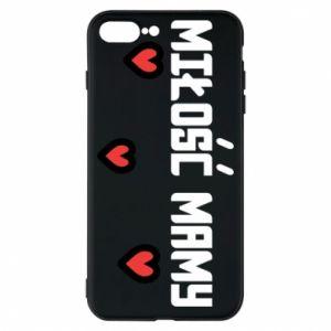 Etui na iPhone 8 Plus Miłość mamy
