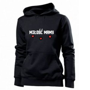 Women's hoodies Mom's love