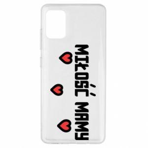Etui na Samsung A51 Miłość mamy