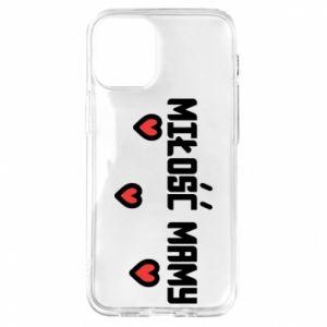 Etui na iPhone 12 Mini Miłość mamy
