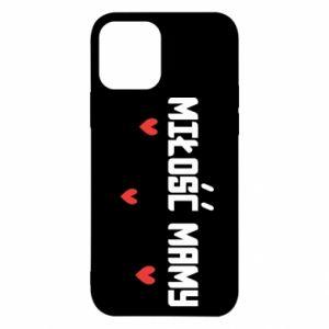 Etui na iPhone 12/12 Pro Miłość mamy