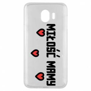 Etui na Samsung J4 Miłość mamy