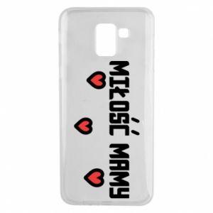 Etui na Samsung J6 Miłość mamy