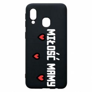 Etui na Samsung A40 Miłość mamy