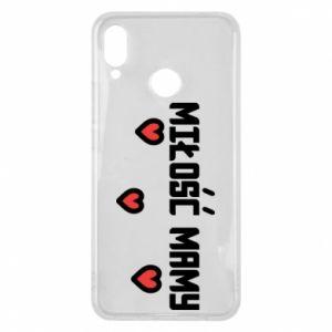 Etui na Huawei P Smart Plus Miłość mamy