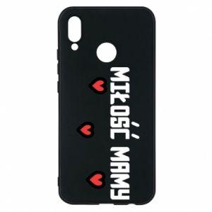 Etui na Huawei P20 Lite Miłość mamy
