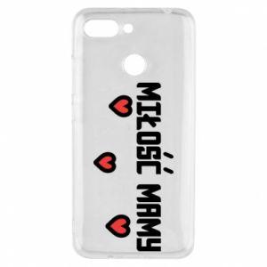 Etui na Xiaomi Redmi 6 Miłość mamy