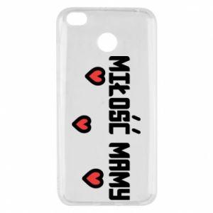 Etui na Xiaomi Redmi 4X Miłość mamy