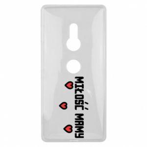 Etui na Sony Xperia XZ2 Miłość mamy