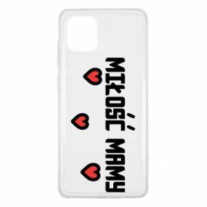 Etui na Samsung Note 10 Lite Miłość mamy