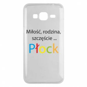 Phone case for Samsung J3 2016 Love, family, happiness... Plock