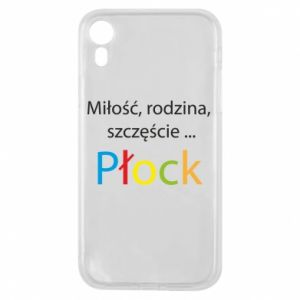 Phone case for iPhone XR Love, family, happiness... Plock