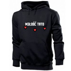Men's hoodie Dad's love