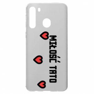 Samsung A21 Case Dad's love