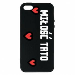 Etui na iPhone 5/5S/SE Miłość taty
