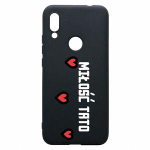 Etui na Xiaomi Redmi 7 Miłość taty