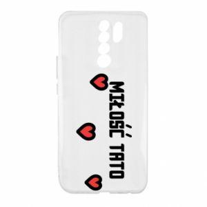 Etui na Xiaomi Redmi 9 Miłość taty