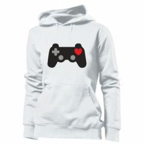 Women's hoodies Love is a game