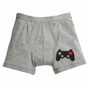 Boxer trunks Love is a game