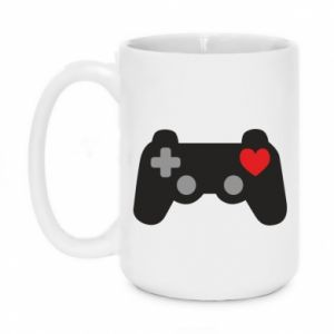 Mug 450ml Love is a game