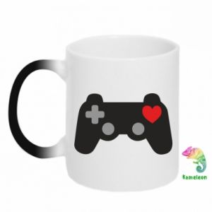 Chameleon mugs Love is a game