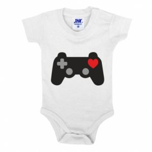 Baby bodysuit Love is a game