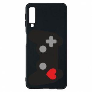 Samsung A7 2018 Case Love is a game