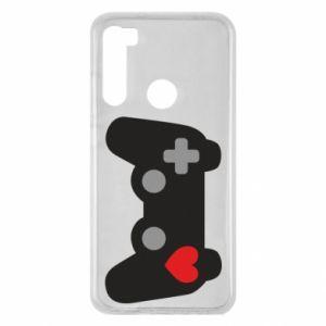 Xiaomi Redmi Note 8 Case Love is a game