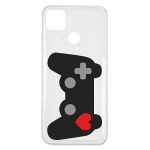 Xiaomi Redmi 9c Case Love is a game