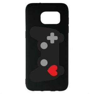 Samsung S7 EDGE Case Love is a game
