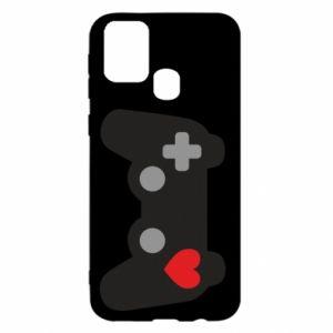 Samsung M31 Case Love is a game