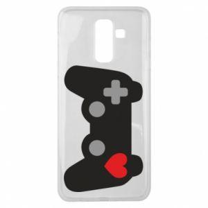 Samsung J8 2018 Case Love is a game