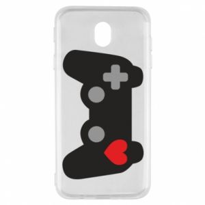 Samsung J7 2017 Case Love is a game