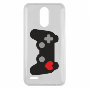 Lg K10 2017 Case Love is a game