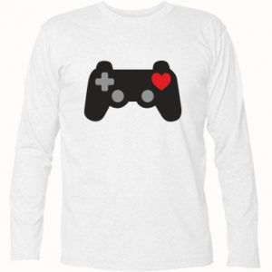 Long Sleeve T-shirt Love is a game