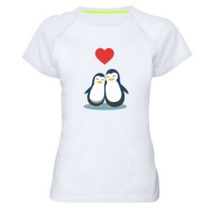 Women's sports t-shirt Lovers - PrintSalon
