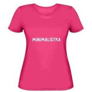Women's t-shirt Minimalist