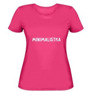 Women's t-shirt Minimalist - PrintSalon
