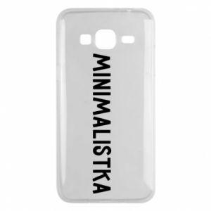Phone case for Samsung J3 2016 Minimalist - PrintSalon
