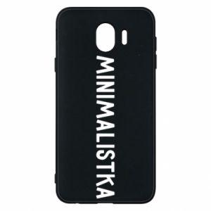 Phone case for Samsung J4 Minimalist - PrintSalon