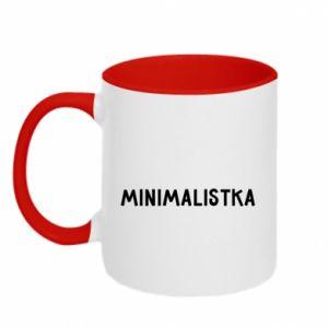 Two-toned mug Minimalist - PrintSalon
