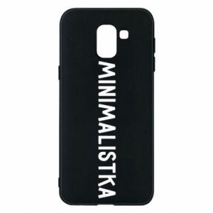 Phone case for Samsung J6 Minimalist - PrintSalon