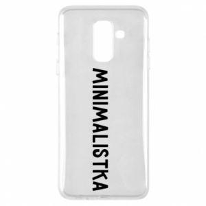 Phone case for Samsung A6+ 2018 Minimalist - PrintSalon