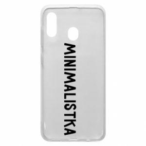 Phone case for Samsung A30 Minimalist - PrintSalon