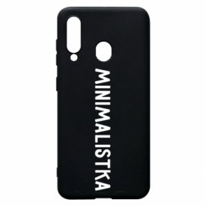 Phone case for Samsung A60 Minimalist - PrintSalon