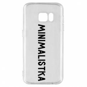 Phone case for Samsung S7 Minimalist - PrintSalon