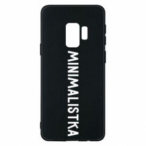 Etui na Samsung S9 Minimalistka