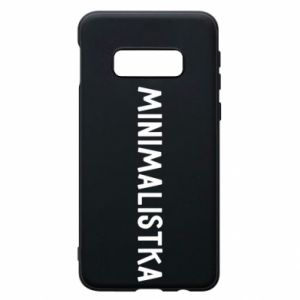 Phone case for Samsung S10e Minimalist - PrintSalon